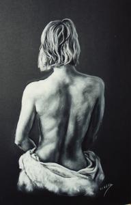pastel sobre papel Canson, 50 x 65 cm